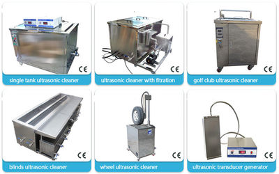 Customized Industrial Ultrasonic Cleaner