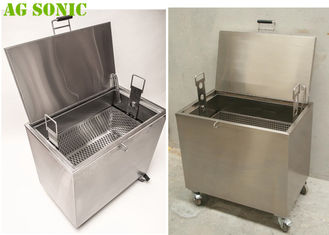 Heated Soak Tank to Clean Carbon from Baking Pans Pizza Pans with Chemical