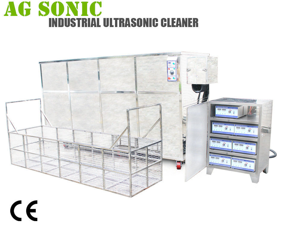 2000L Industrial Ultrasonic Engine Cleaner For Motor Cylinder Head Washing