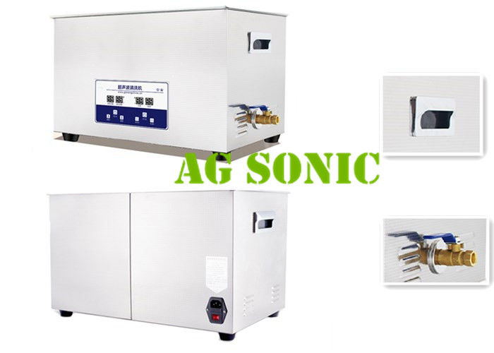 Mini Ultrasonic PCB Cleaner , Sonic Cleaning Tank For Dirt / Grease Removal