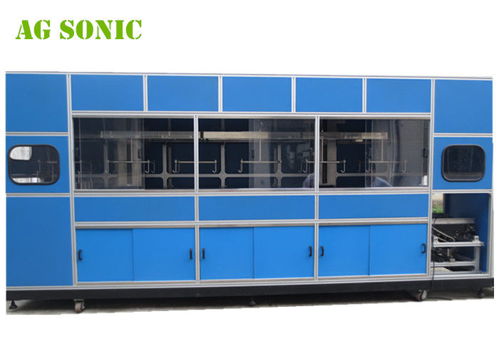Automatic Industrial Ultrasonic Cleaner With Mechanical Arm For Solar Silicon Wafer