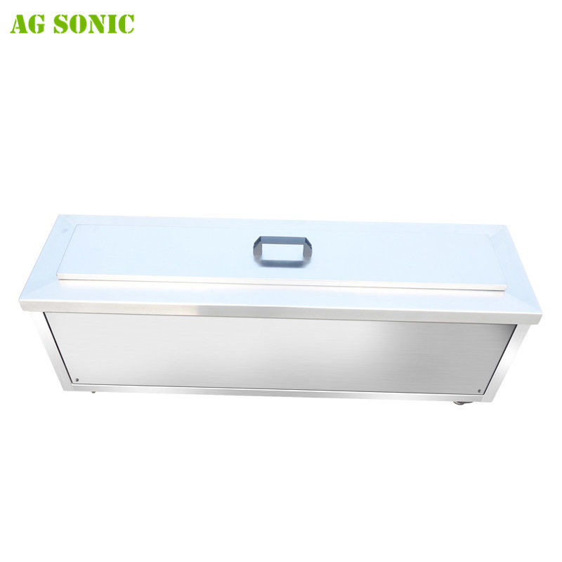 Single Tank Ultrasonic Blind Cleaning Machine Large Capacity With Foot Pedal