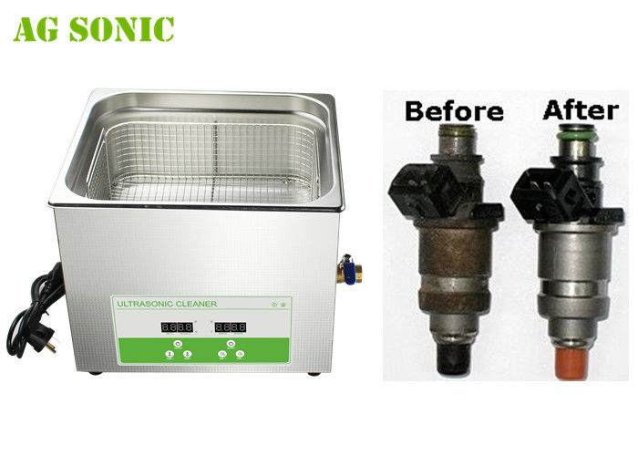 Fuel Injector Ultrasonic Cleaner for ALL Injectors Cleaning 15L 3-5min Fast Cleaning
