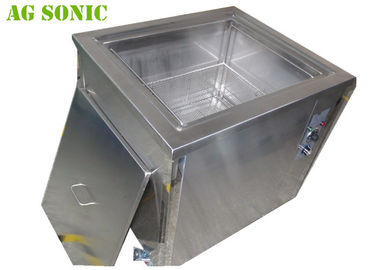 61L Stainless Steel Digital Ultrasonic Jewelry Cleaner With Movable Castors