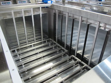 Press - On Mounting Frame Ultrasonic Plate Transducer 28 / 40 / 80 / 120 Khz Stainless Steel 304 / 316