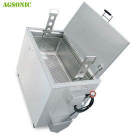 Double Walled Insulated Stainless Steel Kitchen Soak Tank 168L For Oven Pan Cleaning Small / Medium Tank