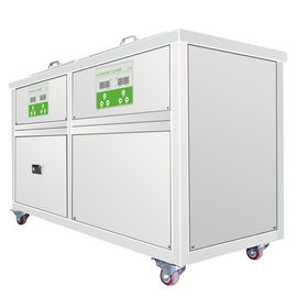 Ultrasonic Cleaning System With A Tank Of High Power And A Passivating Tank