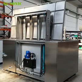 Automatic Ultrasonic Cleaner with Hydraulic Lift PLC Controlled for Wheel Rim Cleaning