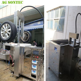 Ultrasonic Tank Cleaing Machine Parts Washer To Clean Alloy Wheels Prior To Repairing 540L